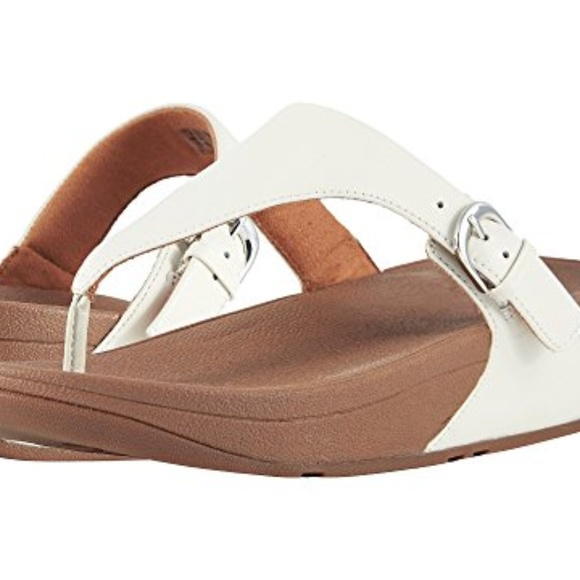 2cb416b7c Fitflop Shoes - FITFLOP WHITE SKINNY THONG SANDALS   FLIP FLOPS ~8